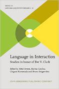 Arnon, Inbal et al (eds.,). Language in Interaction. Studies in honor of Eve V. Clark. John Benjamins Publishing, 2014
