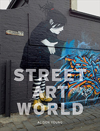 Book Cover Street Art World