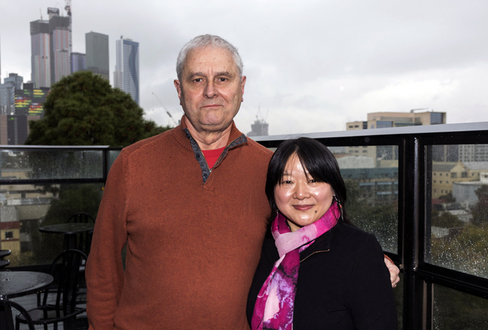 Professor Tim Cheek and Dr Delia Lin