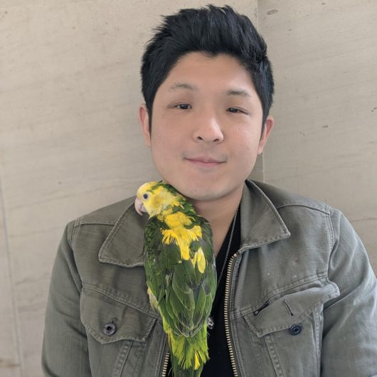 Author Meng Yao is pictured