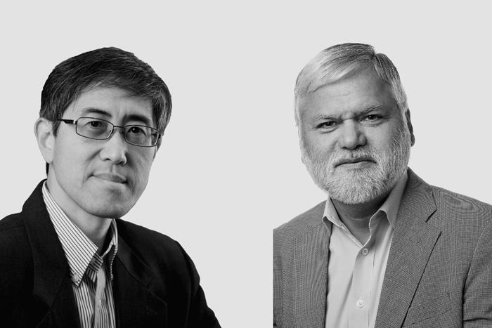Associate Professor Jingdong Yuan and Dr Pradeep Taneja