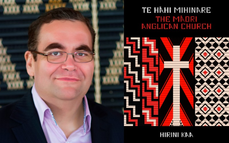 An image of The Maori Anglican Church book cover and authour Hirini Kaa