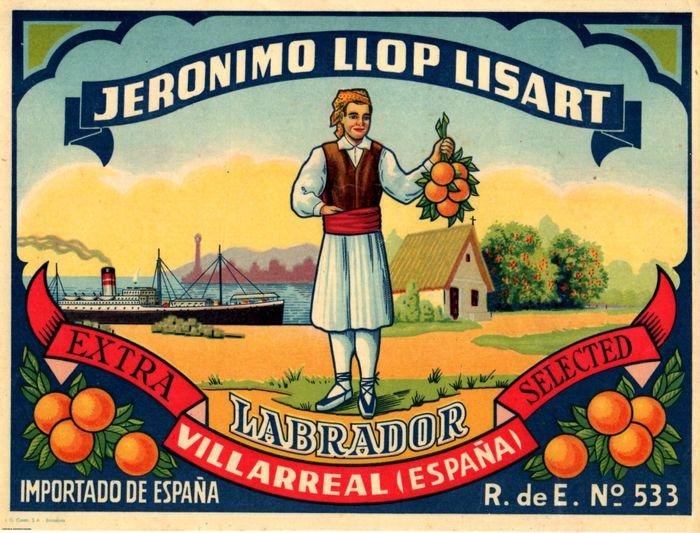 food label illustration
