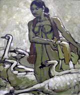 Yong Mun Sen. 'The Goose Lady' 1940