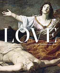 'Love and Emotion' exhibition catalogue cover