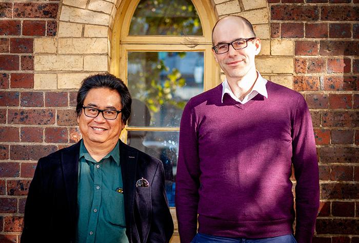 Professor Vedi Hadiz and Dr Dave McRae