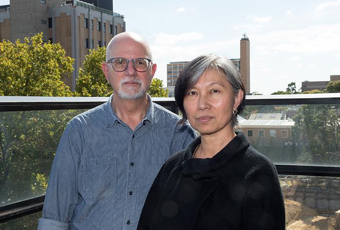 Dr Michael Ewing and Assoc. Professor Novi Djenar