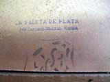 La Paleta de Plata on a LeFranc board from Vicente Genato Un Torero Picando con su Machete 1943
