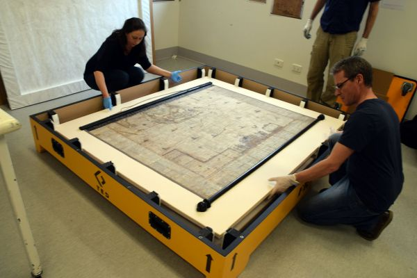 Blaeu map crating